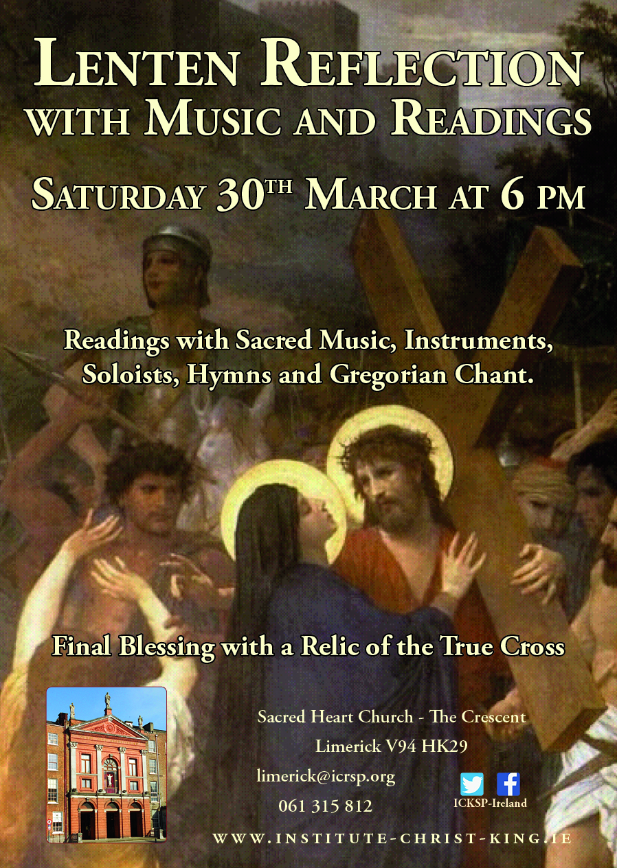 Lenten Reflection with Music and Readings